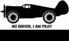 no driver, i am pilot