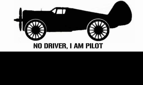 Detail návrhu no driver, i am pilot