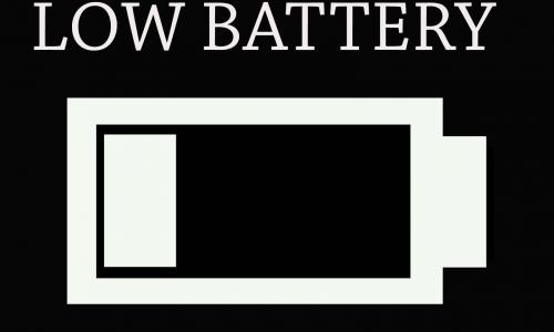 Detail návrhu Low Battery