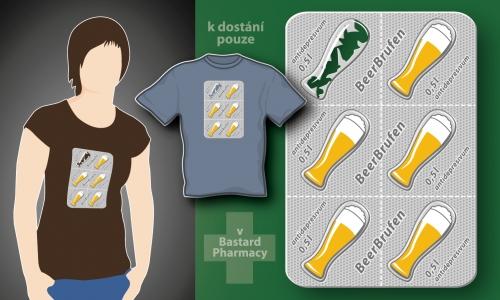 Detail návrhu BeerBrufen