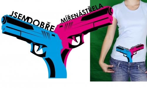 Detail návrhu DOBRE MIRENA STRELA