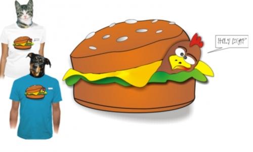 Detail návrhu chickenburger