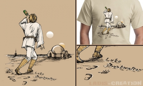 Detail návrhu Luke Drunkwalker