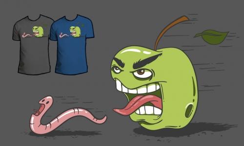 Detail návrhu Apple attack