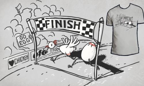 Detail návrhu The Race