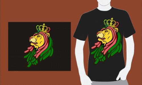 Detail návrhu Lví král