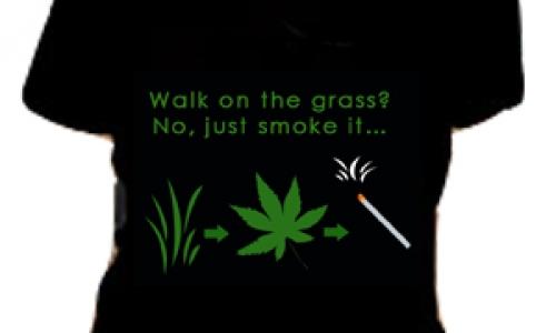 Detail návrhu Walk? Just smoke...