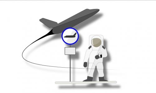 Detail návrhu Space Stop
