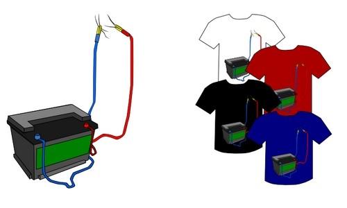 Detail návrhu Baterie