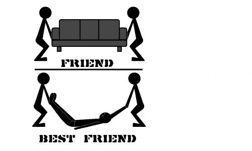 Detail návrhu best friend