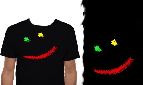 Detail návrhu Rasta Smile