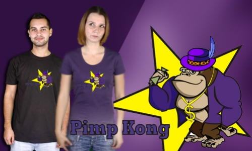 Detail návrhu Pimp Kong