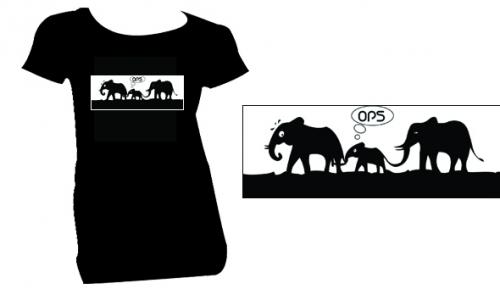 Detail návrhu sloni