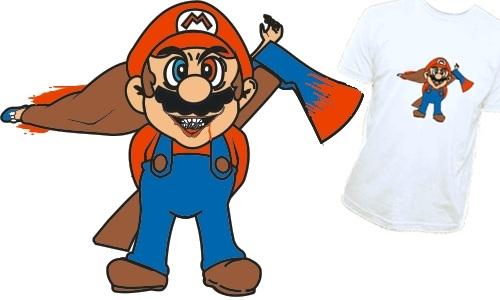 Detail návrhu Crazy Mario