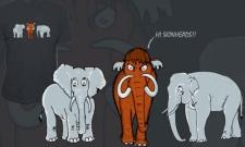 Mamut a sloni