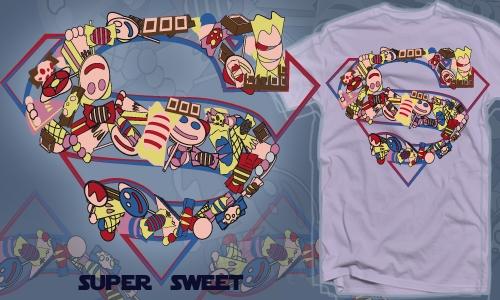 Detail návrhu SuperSweet