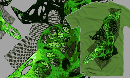 Detail návrhu Wizard Lizard