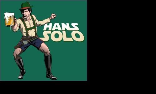 Detail návrhu Hans Solo