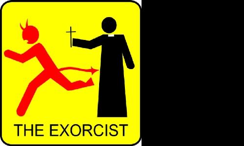 Detail návrhu The exorcist