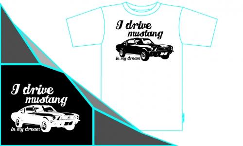 Detail návrhu Mustang