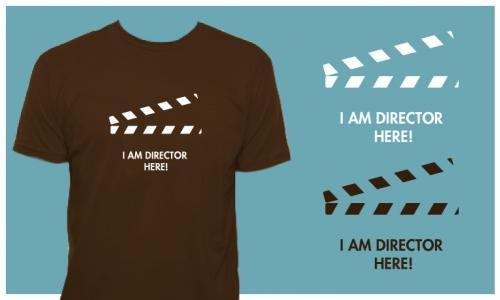Detail návrhu I AM DIRECTOR