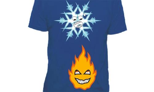 Detail návrhu Fire & Ice