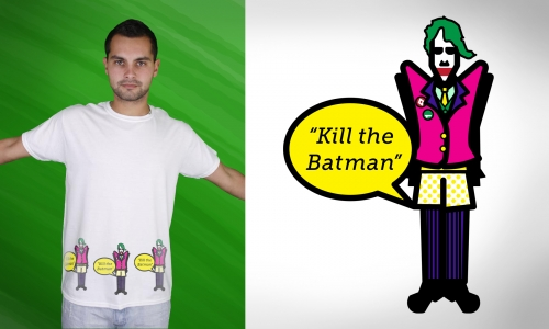 Detail návrhu Joker