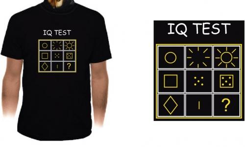 Detail návrhu IQ test