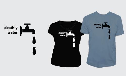 Detail návrhu Deathly water