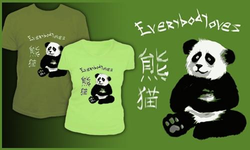 Detail návrhu Pandalovers
