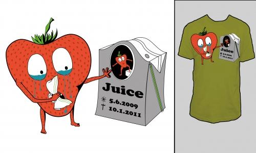 Detail návrhu Můj kamarád Juice