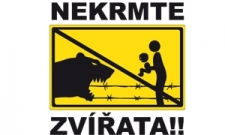 Nekrmte zvířata!!