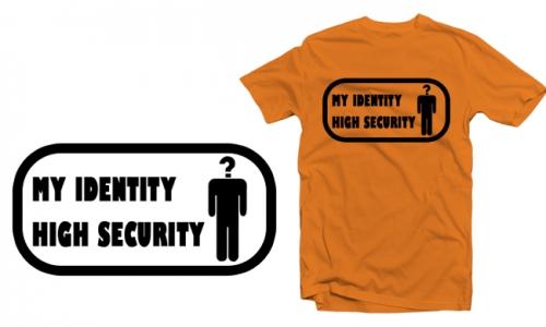 Detail návrhu My identity, high security
