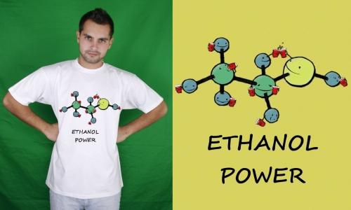Detail návrhu Ethanol power