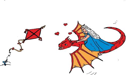 Detail návrhu Dračí láska