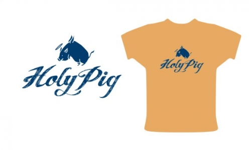 Detail návrhu Holy pig