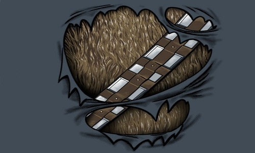 Detail návrhu Chewie