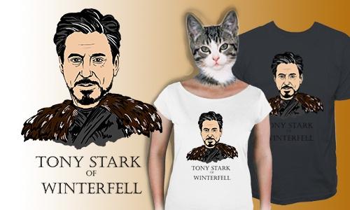 Detail návrhu Tony Stark of Winterfell