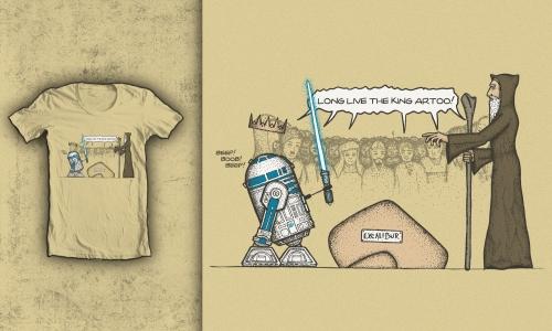 Detail návrhu King Artoo