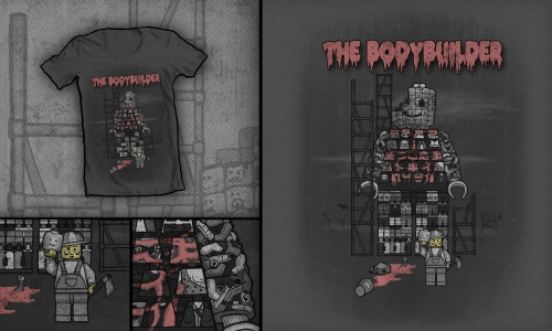 Detail návrhu The Bodybuilder