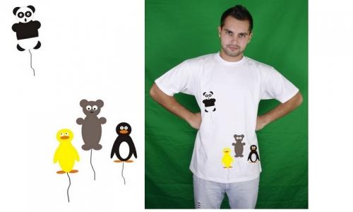 Detail návrhu Save the panda