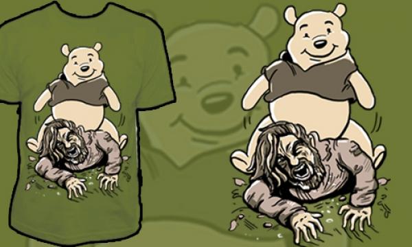 Detail návrhu Hrátky s medvědem