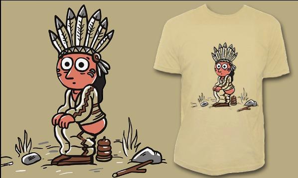 Detail návrhu Indiánek & indiánek