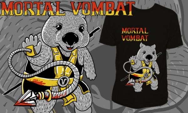 Detail návrhu Mortal Vombat