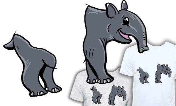 Detail návrhu (roz)tapír :-)