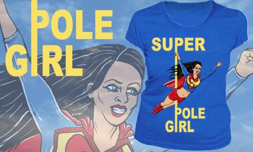 Detail návrhu Super Pole Girl