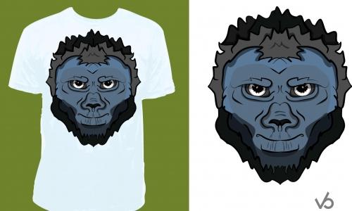 Detail návrhu gorila
