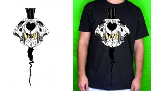 Detail návrhu skull