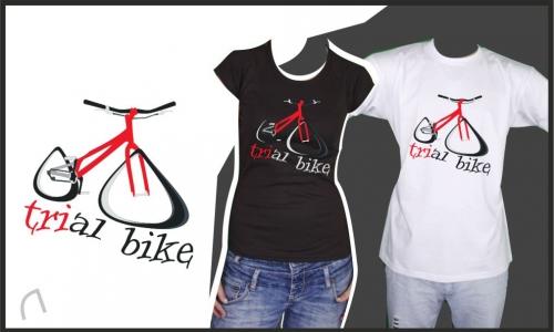 Detail návrhu Trial bike