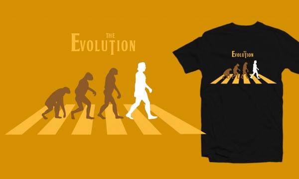 Detail návrhu THE EVOLUTION